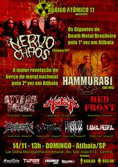 14/11 - Atibaia/SP/BRA (hammurabibrasil) Tags: metal death tour nation shows thrash root extinction hammurabi 2010