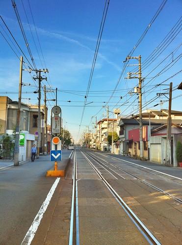 今日の写真 No.2 – チンチン電車他/iPhone4 + Pro HDR