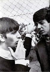 Ringo&Paul (Beatlegeek) Tags: fab england music love rock night liverpool john paul four george harrison hard band days help beatles lennon ringo mccartney starr macca