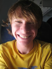 On the airplane - on the way to Darwin