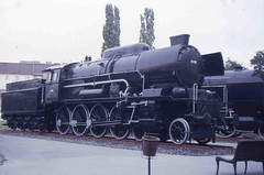 ÖBB 33.102 (Ray's Photo Collection) Tags: austria austrian railways oebb wien museum steam locomotive loco 33102 class 33 obb federal öbb 1987