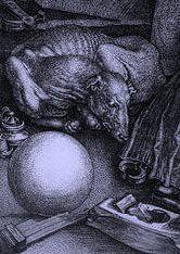 Detail 2: Albrecht Durer's Melancholia