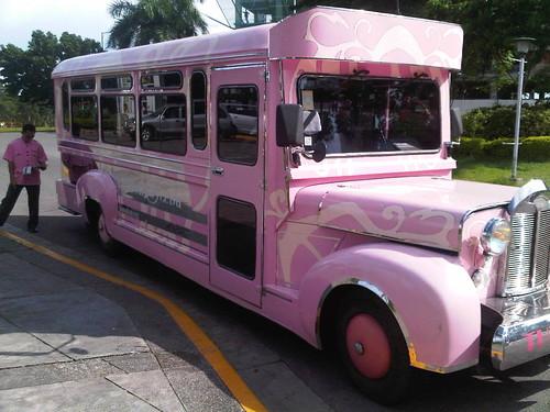 Cebu Hilton's Pink Jeep