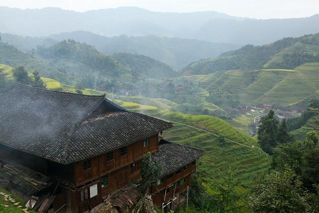 Longsheng Rice Terrace in the morning, Guangxi, China