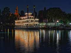 Mark Twain Riverboat (Silver1SWA (Ryan Pastorino)) Tags: canon river boat mark disneyland disney steam twain walt canonef24105mmf4lisusm 40d disneyphotochallenge disneyphotochallengewinner