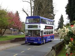 3086 on the 1 (MCW1987) Tags: road travel west church 1 town hall birmingham mk2 midlands metrobus mcw edgbaston mk2a f86xof