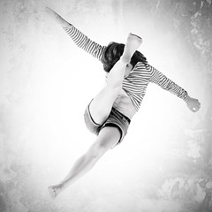 Birds flying high you know how I feel (Stphane Giner) Tags: portrait white black modern dance femme danse moderne ghosts ghouls stephaneginer