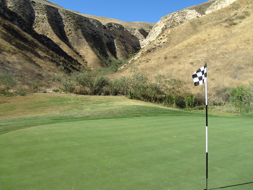 My favorite hole at Lost Canyons Golf, Sky course, Simi Valley