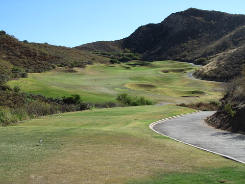 Sixteenth hole at Lost Canyons Golf, Simi Valley California