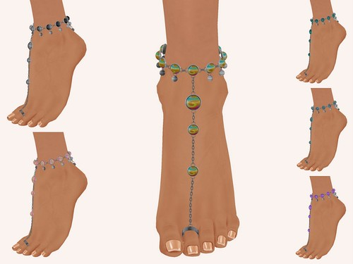 :+:SS:+: Euphoria Anklets (Tiptoes)
