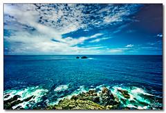 Ocean (rjt208) Tags: ocean england sky seascape southwest water clouds rocks cornwall atlanticocean capecornwall canon400d rjt208