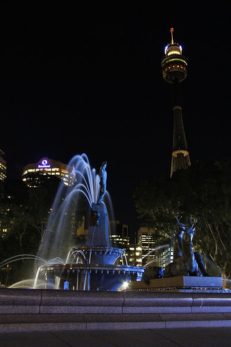 Vivid Sydney 2010 - Hyde Park