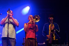 Percubaba - Truca Taoules - Montgaillard (65) (Renaud Pacouil) Tags: france festival concert groupe lumires musique midipyrnes scne hautespyrnes festoche percubaba trucataoules montgaillard65