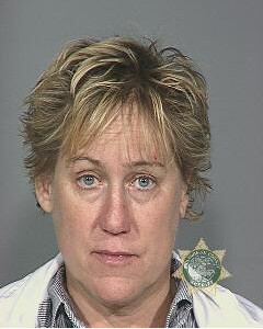 Mary Volm's booking photo