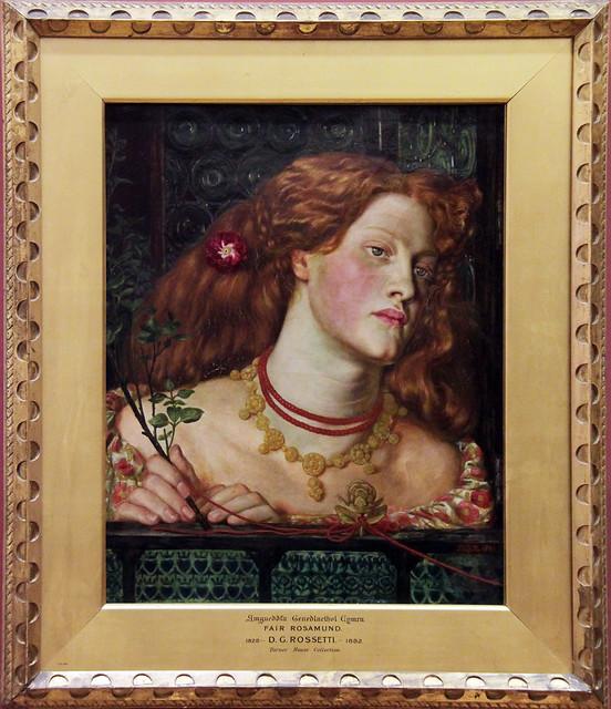 Fair Rosamund - Dante Gabriel Rossetti, 1861