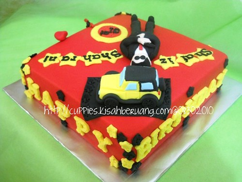 shafiz 007 bday cake