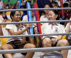 YOG - Gymnastics (GenkiGenki) Tags: people sports smile canon eos kid singapore stadium stranger gymnastics ef yog 70200mm bishan ef70200mmf4lisusm youtholympicgames 5dmarkii 5d2 5dmark2