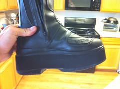 Christine's Gene Simmons moto boots