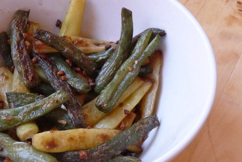 Fried Wax Beans