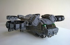 MH4-C 002A (Babalas Shipyards) Tags: lego aircraft military cargo helicopter ductfan mh4c