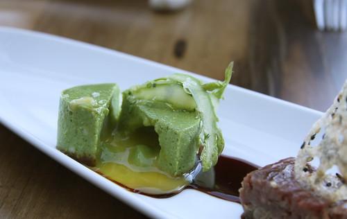 Napa Morimoto - asparagus flan