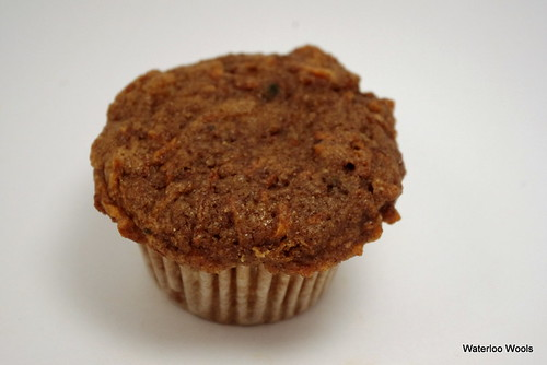 Carrot-Raisin-Pecan Muffin