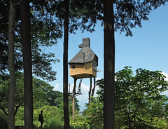 TAKASUGI-AN: Terunobu Fujimori, Chino, Nagano, Jun. 2004 (wakiiii) Tags: japan architecture s5pro