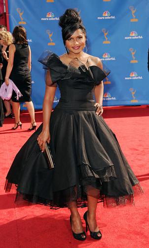 Mindy Kaling at the 62nd Primetime Emmy Awards