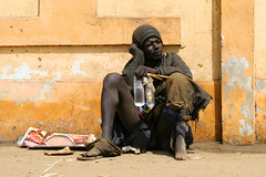 A hopeless man sitting in the streets of Dakar, Senegal. (cookiesound) Tags: poverty life africa trip travel summer vacation portrait people holiday man streets travelling canon photography reisen sitting fotografie urlaub homeless bum beggar afrika senegal dakar begging reise hopeless homelessman travelphotography homelesspeople traveldiary armut travelphotos bettler reisefotografie homelessbum lifeinafrica africapoverty reisebericht travellifestyle povertyafrica povertyman povertyinafrica nisamaier ulrikemaier homelessinafrica homelessinsenegal peoplesenegal slumsafrica peopledakar povertypeople senegalpoverty peoplelivinginpoverty africanpoverty manlivinginpoverty maninsenegal hopelessinsenegal hopelessinafrica armutinafrika slumssenegal slumsdakar povertyindakar povertyinsenegal