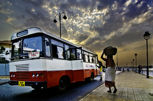 Panaji, Goa - It aint Heavy, It Is Empty and It Will Be On The Bus