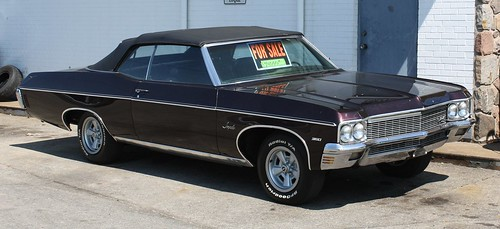 Flickriver carphotos photos tagged with 1970 chevrolet impala convertible sciox Images