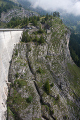 Rawyl Dam - Barrage de Tseuzier Photo