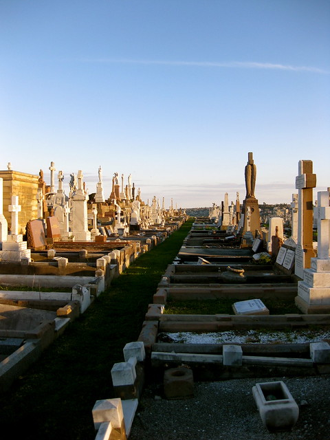 cemetery by the sea (bay)