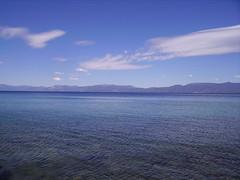 Lake Tahoe (Camera John) Tags: california camera cloud mountain lake water john landscape ripple tahoe wave chapman camerajohn