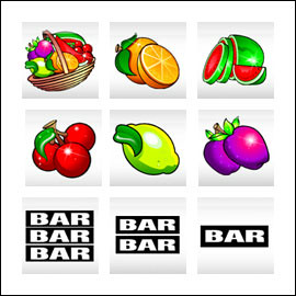 free Froot Loot slot game symbols