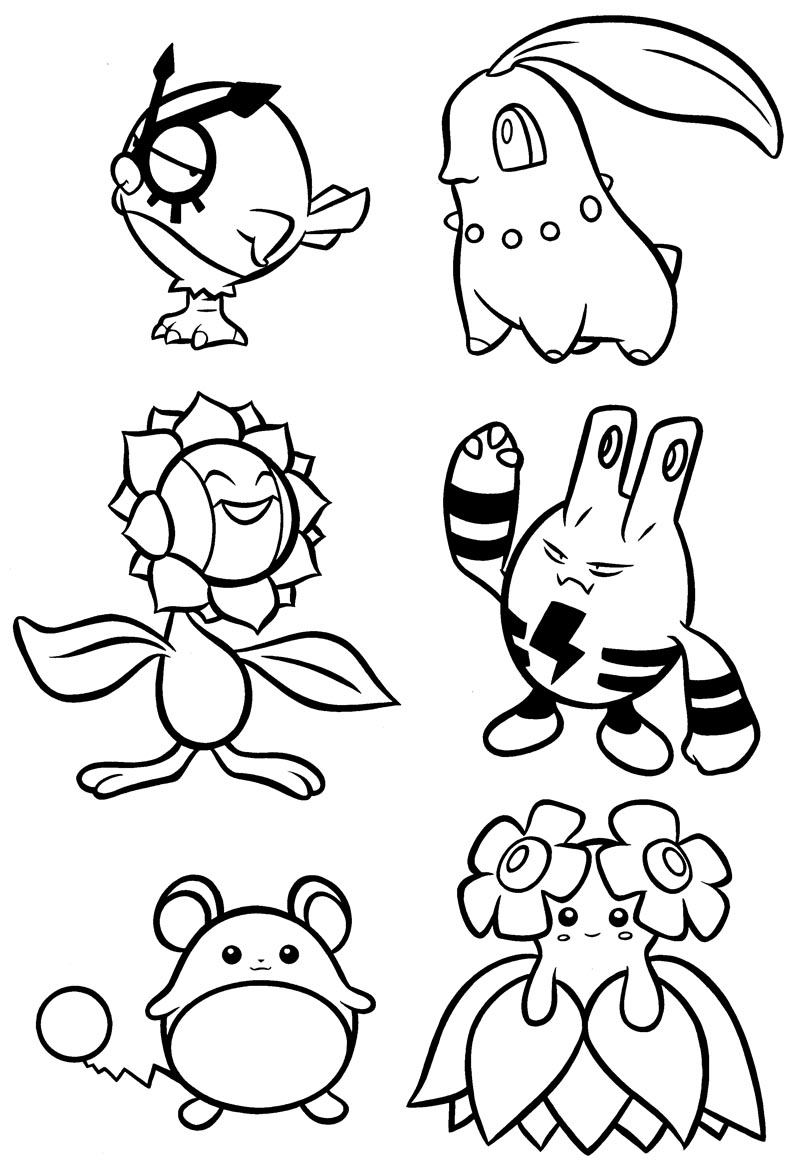 Nintendo Character Drawings Sketch Coloring Page