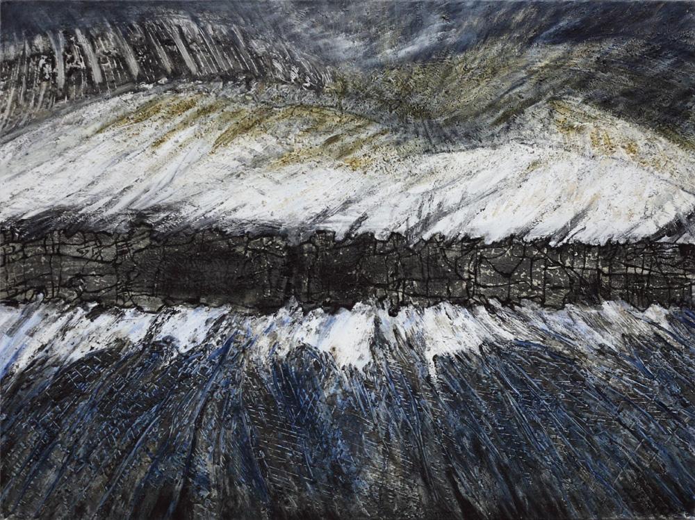 Linde Waber, Kanjis in der Landschaft [Chinese Characters in the Landscape], 2008