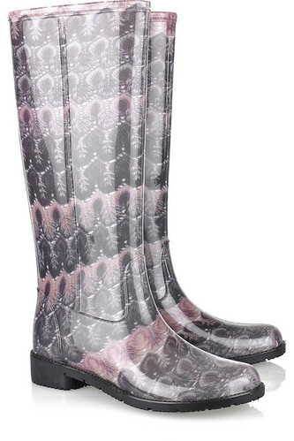 Missoni wellies