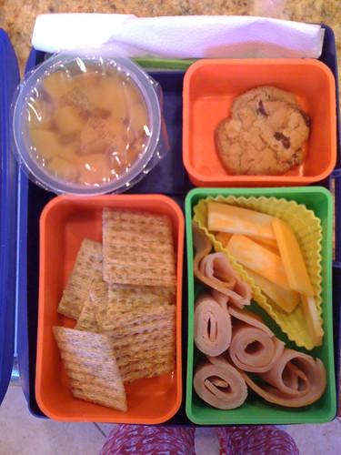 Little Man's lunch