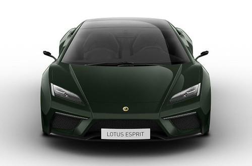 Lotus Esprit revealed in Paris