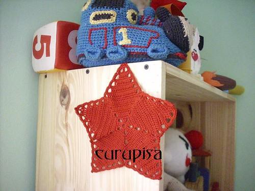 estrella tejejuntas / crochetalong star