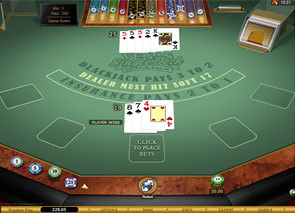 Vegas Single Deck Blackjack Gold Win