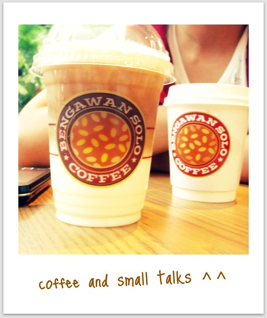 coffee and small talks