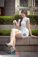 Celine Th'ng (linkinstreet) Tags: new year chinese starbucks pavilion celine cheongsam hou thean