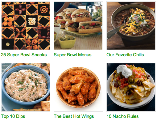 Super Bowl Tips from BonAppetit.com