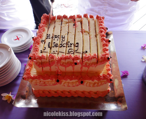 cut up cake