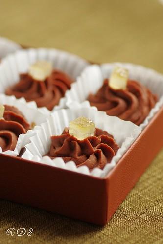 Truffes au chocolat et Limoncello