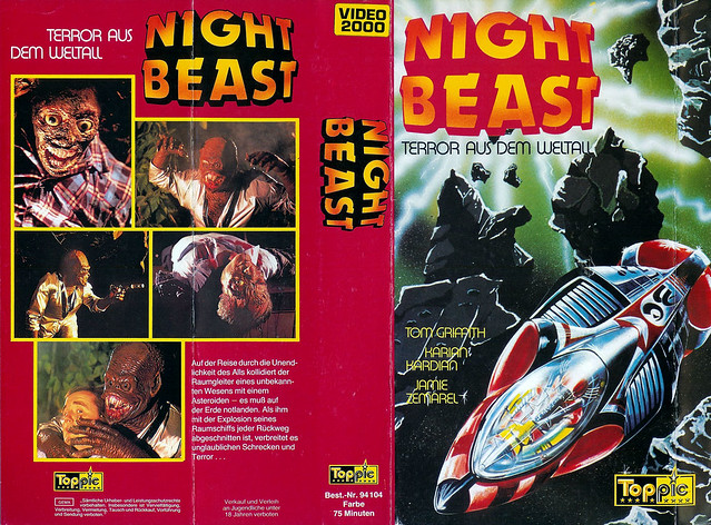 Night Beast (VHS Box Art)