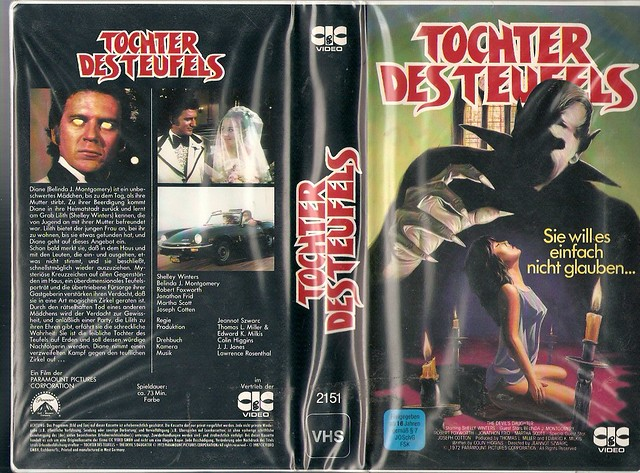 The Devil's Daughter (VHS Box Art)
