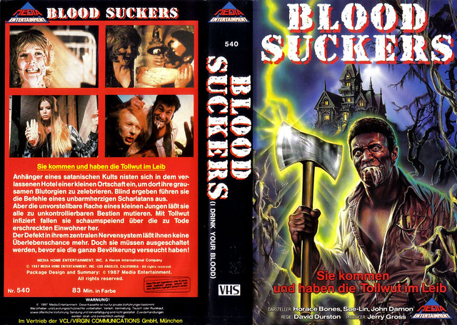 Blood Suckers (VHS Box Art)